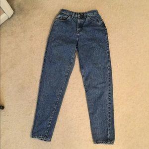 Vintage 90's high waist mom Jeans Lee riders Sz 6